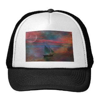 Sailing into the Unknown Trucker Hat