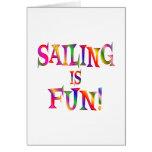 Sailing is Fun Card