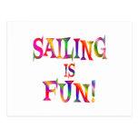 Sailing is Fun Postcards