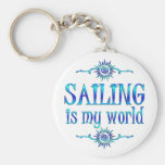 Sailing is My World Key Chains