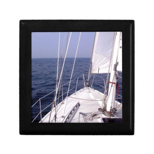 Sailing Jewelry Box