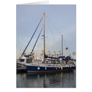 Sailing Ketch Francesca Card