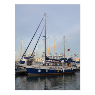 Sailing Ketch Francesca Postcard