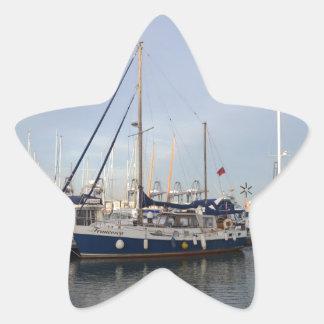 Sailing Ketch Francesca Star Sticker