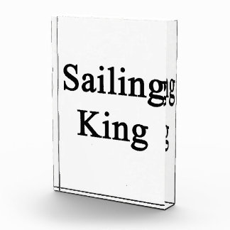 Sailing King Acrylic Award