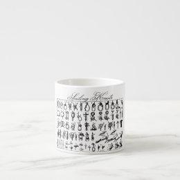 Sailing Knots Espresso Cup