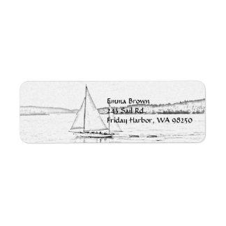 Sailing Label