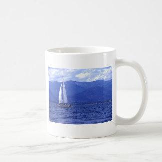 Sailing Lake Pend Oreille Coffee Mug