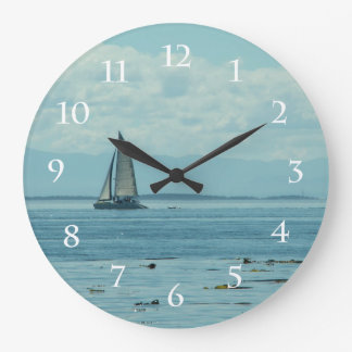 Sailing Large Clock