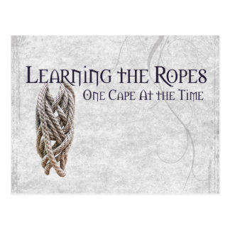Sailing - Learning the Ropes Postcard