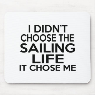 SAILING LIFE DESIGNS MOUSE PAD