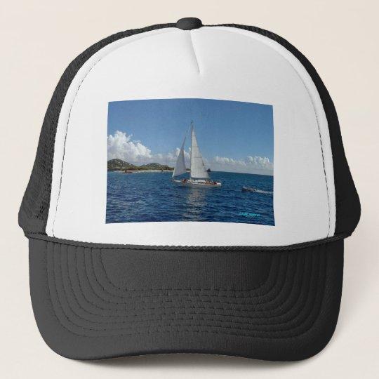 sailing lj trucker hat