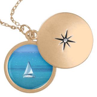 Sailing Locket Necklace