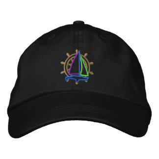 Sailing Logo Embroidered Hats