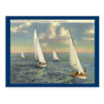 Sailing, Long Beach, Long Island Vintage Post Cards