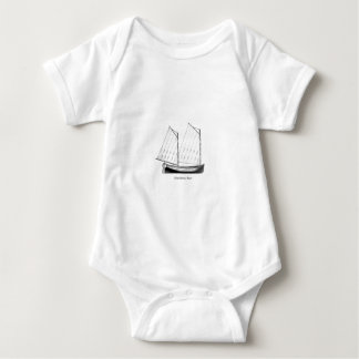 Sailing - Mackinaw Boat Baby Bodysuit