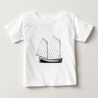 Sailing - Mackinaw Boat Baby T-Shirt