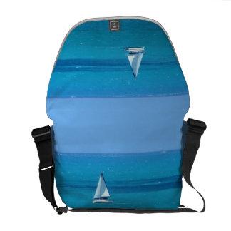 Sailing Medium Courier Bag