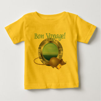 Sailing Mouse on Vacation Baby T-Shirt