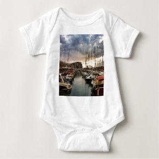 Sailing- multiple products/ Landscape at the Marin Baby Bodysuit