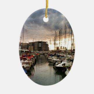 Sailing- multiple products/ Landscape at the Marin Ceramic Ornament