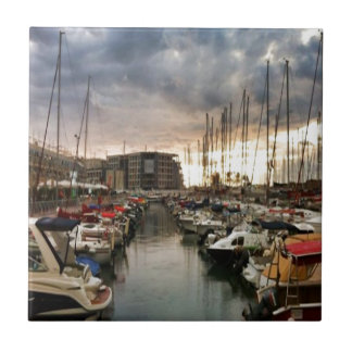 Sailing- multiple products/ Landscape at the Marin Tile