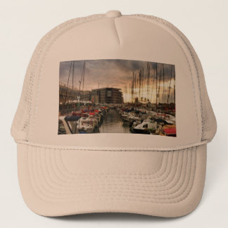 Sailing- multiple products/ Landscape at the Marin Trucker Hat