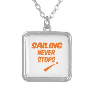 Sailing Never Stops Custom Jewelry