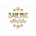 SAILING Nothing Better Post Cards