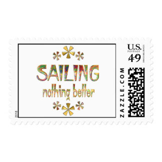 SAILING Nothing Better Postage Stamps