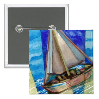 """""""Sailing Off The Edge of The Page""""  CricketDiane Pin"""