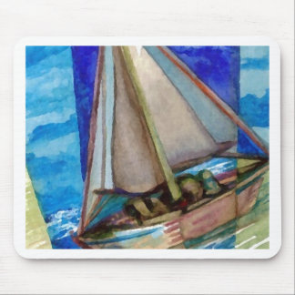 """Sailing Off The Edge of The Page""  CricketDiane Mouse Pad"