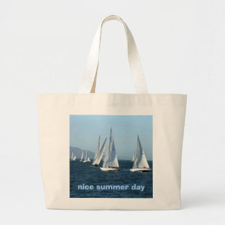 Sailing,on a nice summer day, with this beach bag