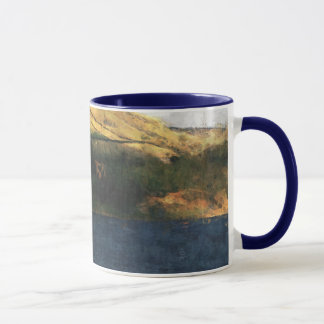 Sailing on Dovestone Reservoir Mug