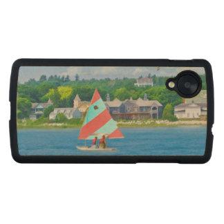 Sailing on Lake Huron Carved® Maple Nexus 5 Case