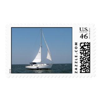 Sailing on Lake Pontchartrain Postage Stamp