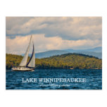 Sailing On Lake Winnipesaukee In New Hampshire Postcard