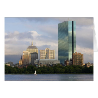 Sailing on the Charles River in Boston, Greeting Cards