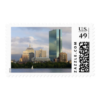 Sailing on the Charles River in Boston, Postage Stamps