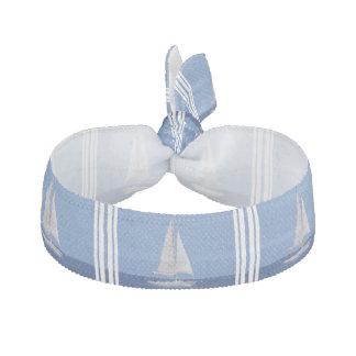 Sailing on the Ocean Blue Hair Tie
