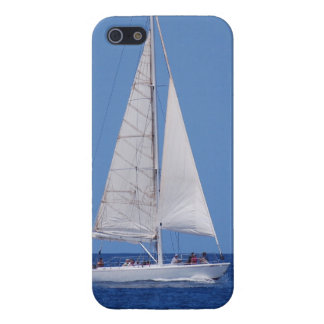 Sailing on the Ocean Blue iPhone 5 Cover