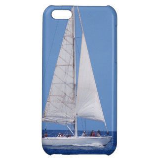 Sailing on the Ocean Blue iPhone 5C Cover