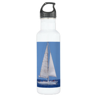 Sailing on the Ocean Blue 24oz Water Bottle