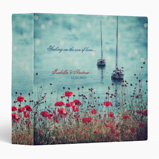 Sailing on the sea of love 3 ring binder