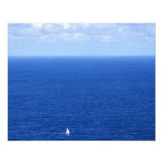 Sailing on the Windward side of Oahu 2 Photo Print