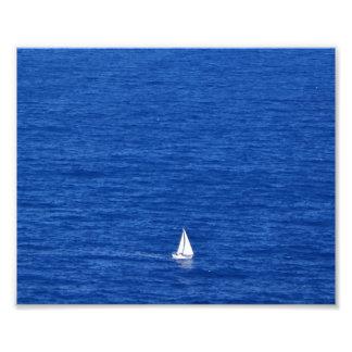 Sailing on the Windward side of Oahu Photo Print