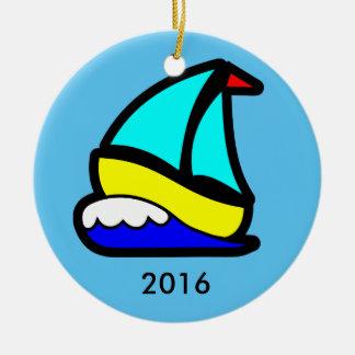 Sailing or Cruise Reunion (or Event) Ceramic Ornament