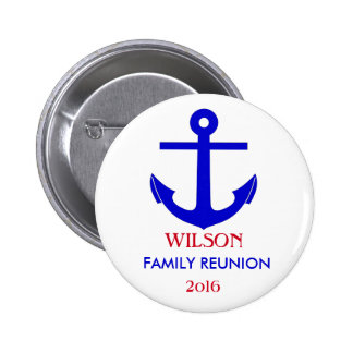 Sailing or Cruise Reunion (or Event) Pinback Button