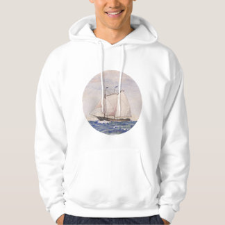 Sailing out of Nantucket Hoodie
