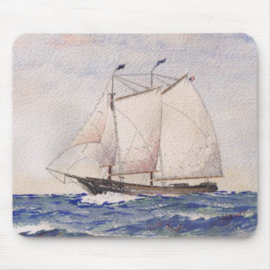 Sailing out of Nantucket Mouse Pad